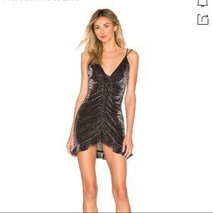 NWT For Love & Lemons Baccarat Glitter Dress